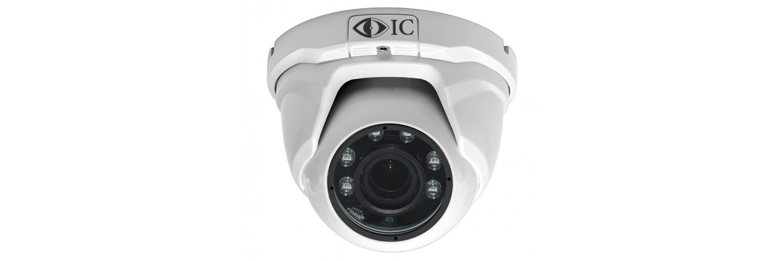 Внутренняя AHD камера 1.3 Мп с фиксированным объективом 2.8мм